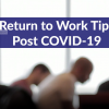 Returning to Work After COVID