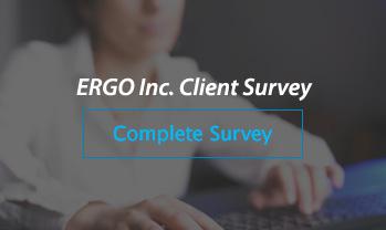 ERGO Client Survey and Send Feedback