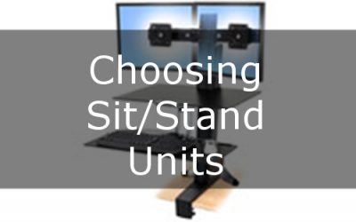 Choosing the Right Sit/Stand Unit